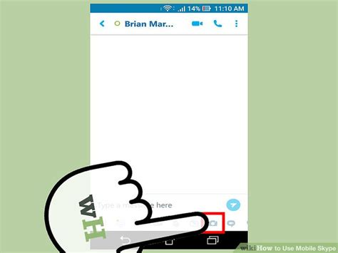 how to use skype on mobile how to use mobile skype with pictures wikihow