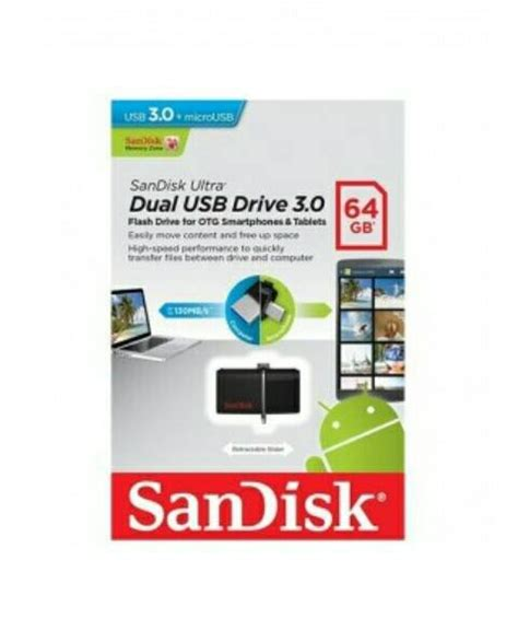 Diskon Dual Drive Usb Sandisk 64gb Garansi Resmi 5 Tahun jual diskon sandisk ultra dual drive usb 30 otg 64gb