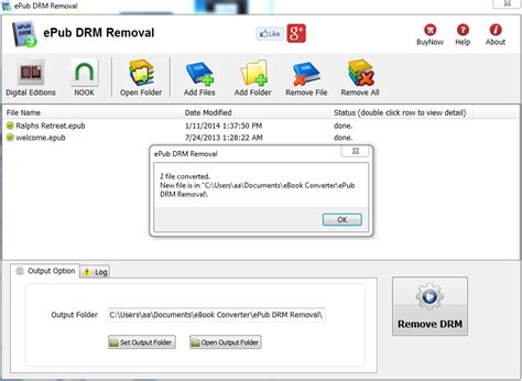 file format converter epub epub drm removal remove adobe ebook drm protection