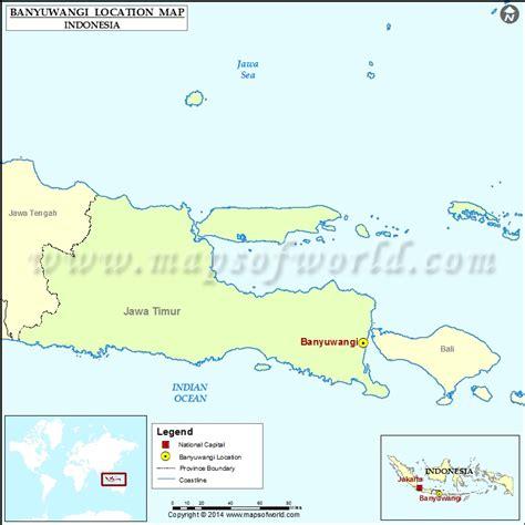 banyuwangi location  banyuwangi  indonesia map