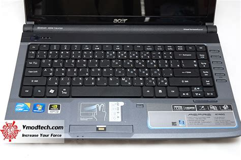 Kipas Laptop Acer 4740 หน าท 1 review acer aspire 4740g i5 520 vmodtech review overclock