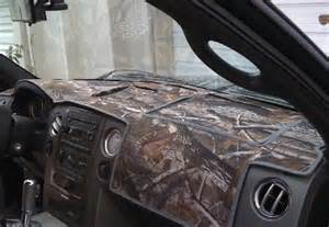 Pink Camo Dash Mat Dash Covers