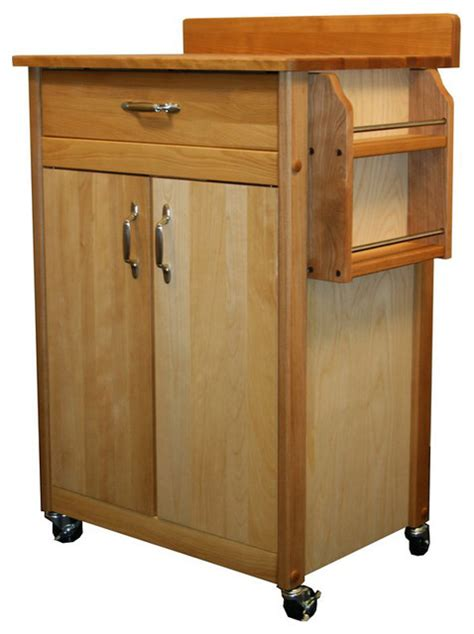 catskill kitchen islands catskill craftsmen 27 inch butcher block kitchen cart