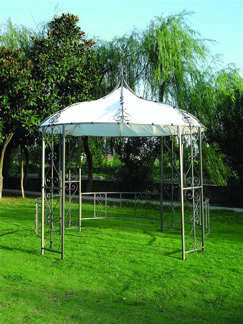 Pavillon Für Terrasse by Pavillon Burma 300cm Rund Lda Homestore Ihr Partner Fuer