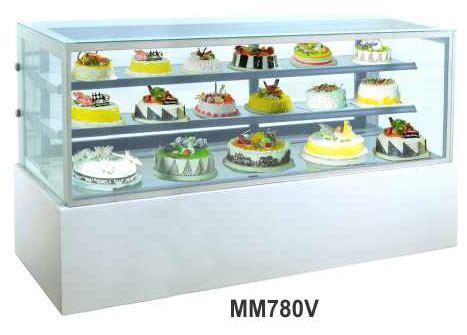 Es Krim 8 Liter Khusus Gosend jual mesin pemajang kue kaca datar rectangular cake showcase kapasitas 740 liter mm780v