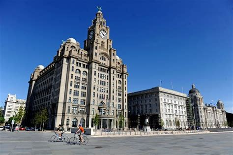 in pictures see liverpool city centre landmarks go from