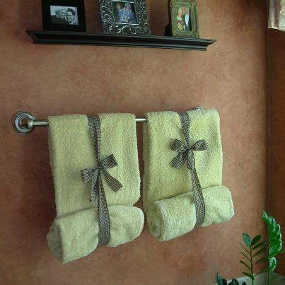 bathroom towel display ideas ways to display bathroom towels google search home