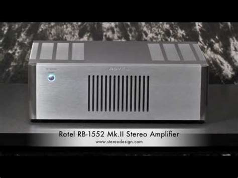 Rotel Rb 1552 Mkii Integrated Lifier stereo design rotel rb 1582 ii lifier in hd doovi