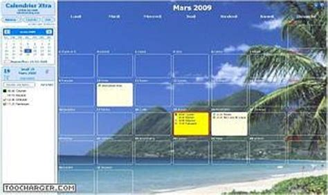 Calendrier Xtra 2015 Calendrier Xtra