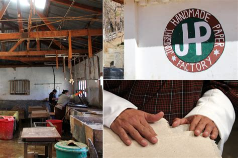 Handmade Factory - a visit to jungshi handmade paper factory in bhutan core77