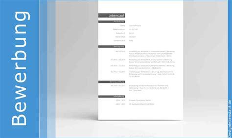 Internationaler Lebenslauf Richtig Bewerben Mit Vorlagen F 252 R Open Office Ms Word