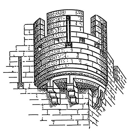 castle wall coloring page drawn castle parapet wall pencil and in color drawn