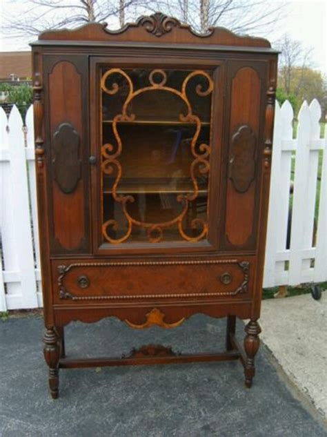 Antique Curio Cabinet   Memories   remember when?   Pinterest