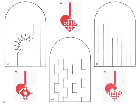 How To Make Woven Paper Hearts - 211 best images about paper baskets