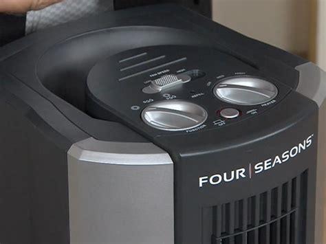 four seasons 4 in 1 heater air purifier fan humidifier by envion
