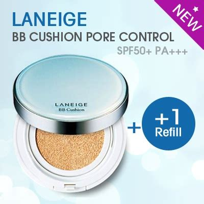 Bedak Laneige Bb Cushion laneige 6in1 bb cushion pore spf 50