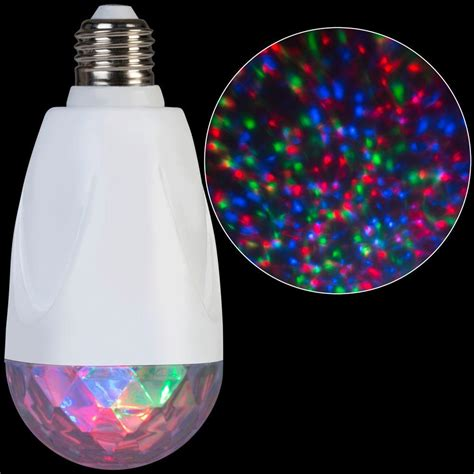 lightshow led projection standard light bulb kaleidoscope