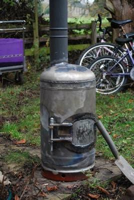 diy wood burning c stove wood stove from a gas cylinder