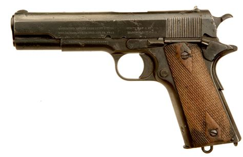 deactivated wwi us army colt 1911 pistol allied