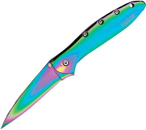 kershaw rainbow leek kershaw rainbow leek knife