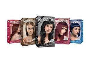 Semir Rambut Miranda Hair Color jual pewarna rambut miranda hair color premium colour bpom jaco shop