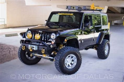Jeep Wrangler Unlimited 6 Inch Lift Purchase Used 2013 Jeep Wrangler Unlimited 4x4 In