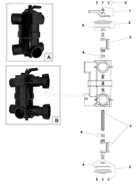 jandy valve parts diagram jandy neverlube 8034 8034j bwvl nvl parts inyopools
