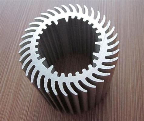 round heat sink extrusion round cooler aluminum heat sinks with multi application