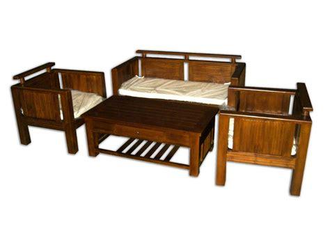 Model Dan Kursi Tamu Jati Minimalis set kursi tamu dan meja kayu jati jepara model minimalis