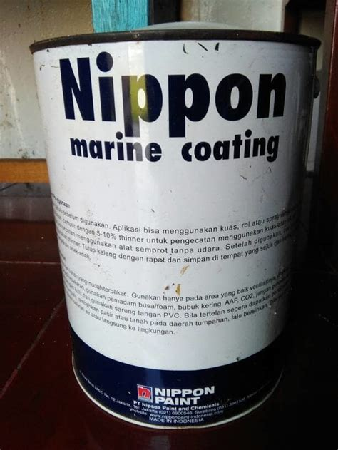jual cat kapal nippon marine coating warna police gray