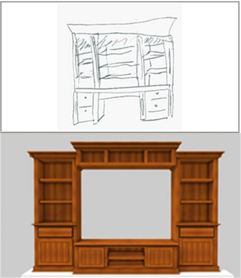 shelf design software sketchlist 3d cabinet design and woodworking software