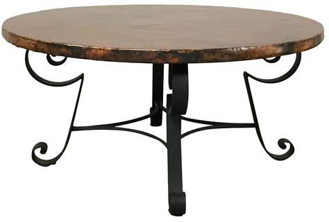 Arhaus Coffee Table Arhaus Copper Top Coffee Table Chairish