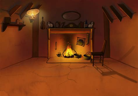 Background Interior by Kelpie Background Interior With Animation By