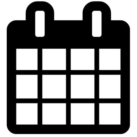 Kalender Wiki File Calendar Font Awesome Svg Wikimedia Commons