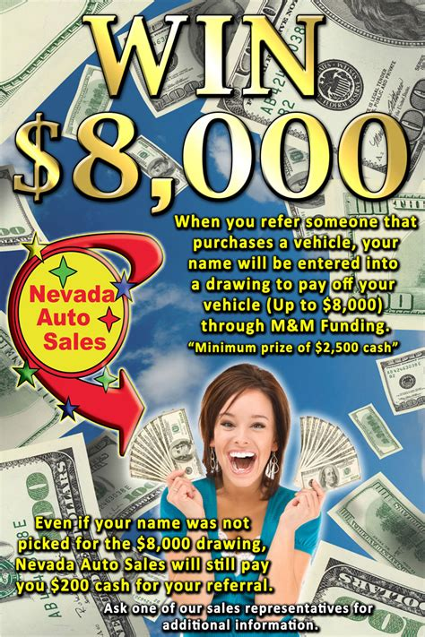 Giveaway Auto Sales - nevada auto sales 8 000 giveaway colorado springs advertising and marketing agency