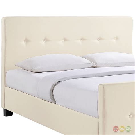 tufted queen bed abigail contemporary upholstered button tufted queen bed