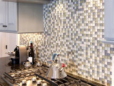 Self Adhesive Kitchen Backsplash Glass Mosaic Wall Tile Adhesive Self Adhesive Backsplash Tiles Kitchen Designs Choose
