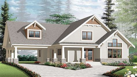 craftsman cottage craftsman style bungalow house plans angled garage house