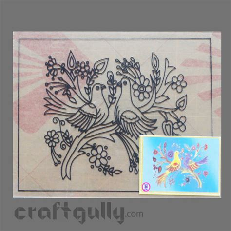 glass painting templates patterns ready to glass paint stencil doves