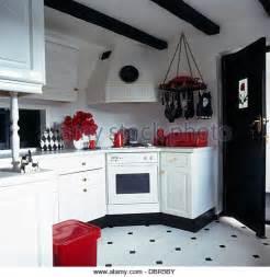 Black White Kitchen Accessories Vinyl Flooring Stock Photos Amp Vinyl Flooring Stock Images