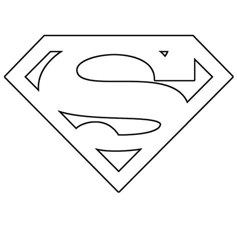 superman template max california stencils templates