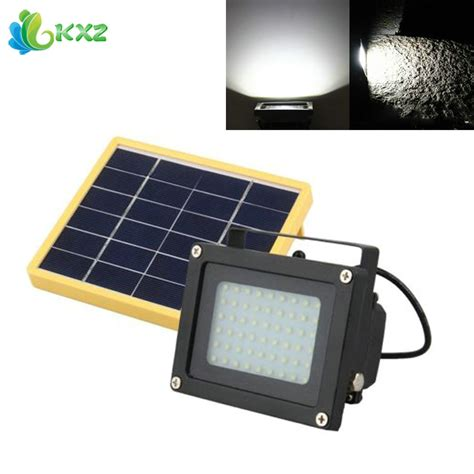 solar dusk to dawn light ruocin solar power led flood light dusk to dawn sensor
