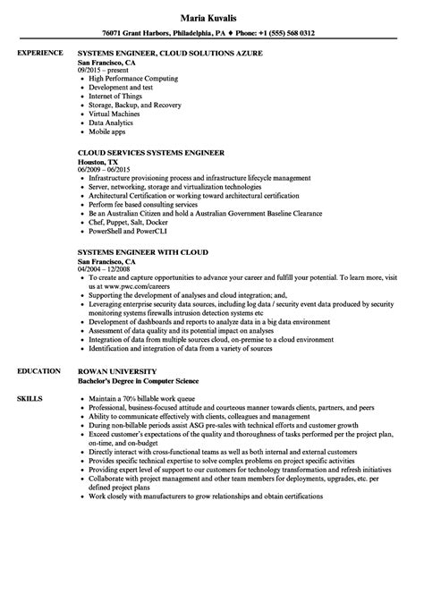 system administrator experience resume format new senior systems