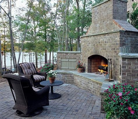 outdoor stone fireplace 10 amazing outdoor stone fireplace ideas to inspire rilane