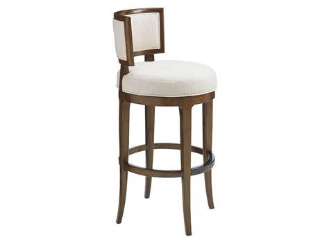 restaurant swivel bar stools island fusion macau swivel bar stool lexington home brands