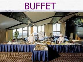 Buffet Service Table Setting Buffet