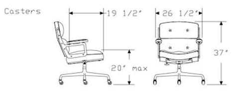 eames lcw chair dimensions executive work chair by herman miller smart furniture