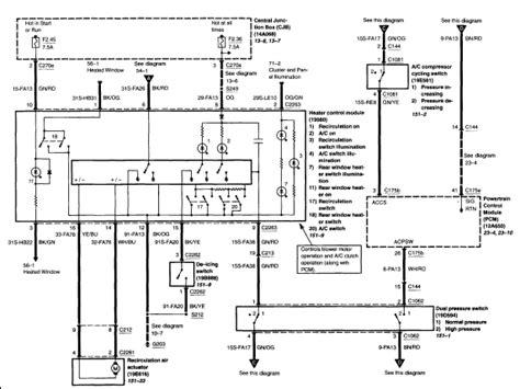 2005 ford focus air conditioning wiring diagram repair