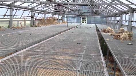 greenhouse benches for sale rolling greenhouse benches tables youtube