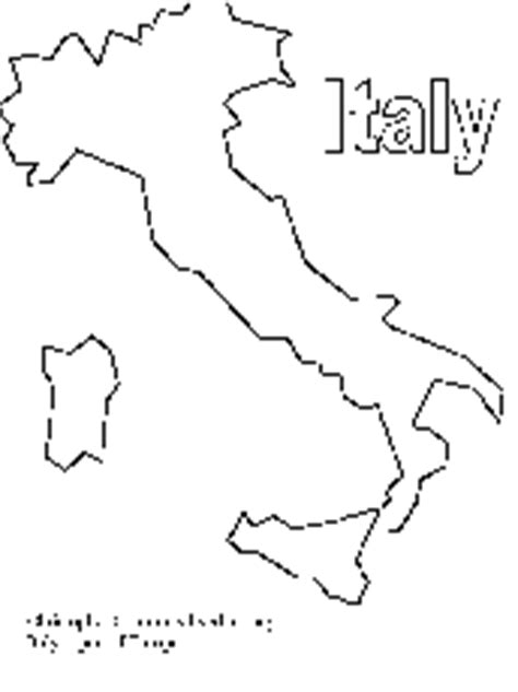 coloring page map of italy coloring pages rainforest az coloring pages